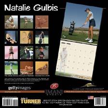 Natalie Gulbis 2006 Calendar Back Cover!