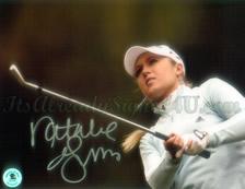 LPGA Sex Symbol Natalie Gulbis swinging picture form 2006 Calendar